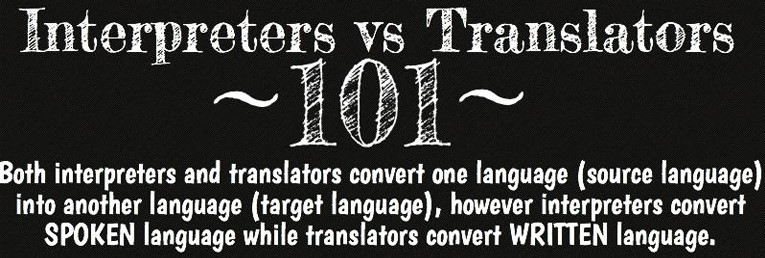 Interpreters translators