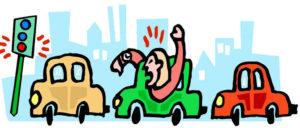 Battling rush hour traffic, again - interpreter's life