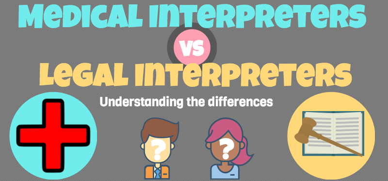 Medical Interpreters vs Legal Interpreters
