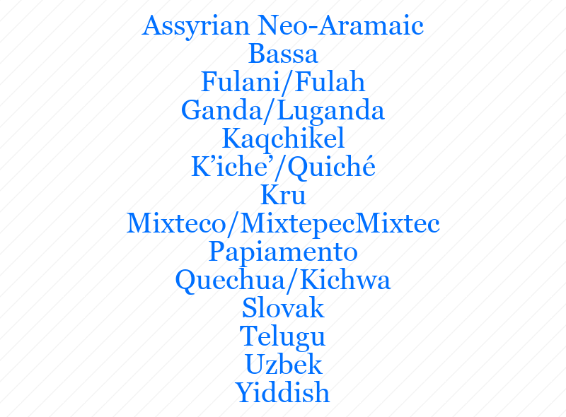 rare_languages_list